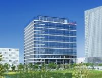横浜みなとみらい21地区に2019年4月に完成した、資生堂の新しい研究開発拠点「資生堂グローバルイノベーションセンター(通称S/PARK)」