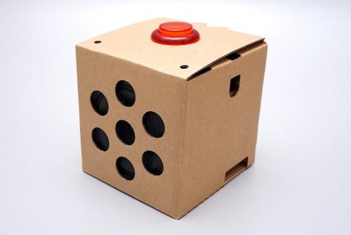 米グーグル(Google)の「Voice Kit」。AIのDIYをうたう「Google AIY」プロジェクトが開発したAIスピーカー自作キット