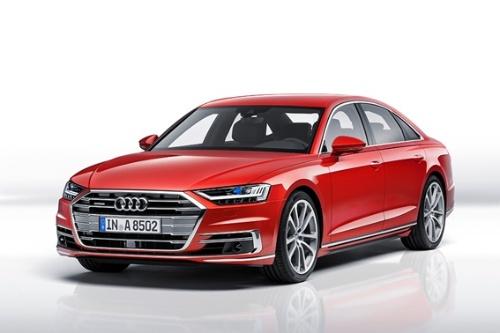 写真1 自動運転レベル3の自動運転技術「Audi AI Traffic Jam Pilot」を搭載予定の「新型Audi A8」(出所:アウディ)