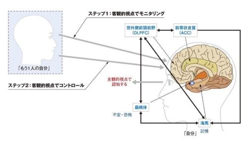 図1 メタ認知能力を使った3つのステップ