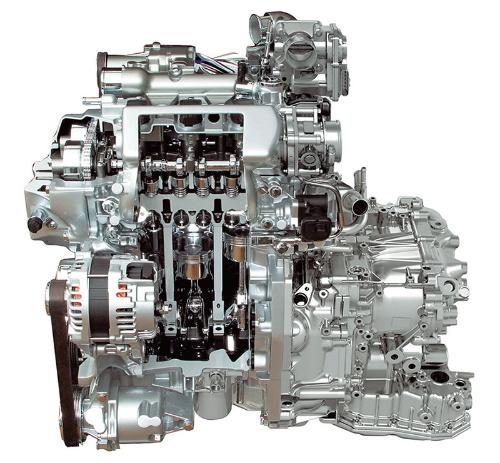 図4「HR12DDR」型エンジン
