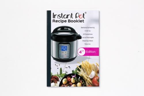 Instant Pot Ultra 60に付属するレシピブック
