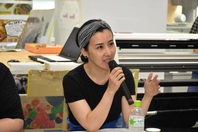 審査員を務めた料理家/フード・ディレクターの川上ミホ氏