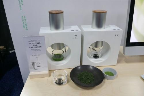 甜茶(てんちゃ)を挽いて抹茶をたてられる空禅抹茶の「Matcha Maker」はCES 2020、FoodTech Liveのどちらでも注目を集めていた