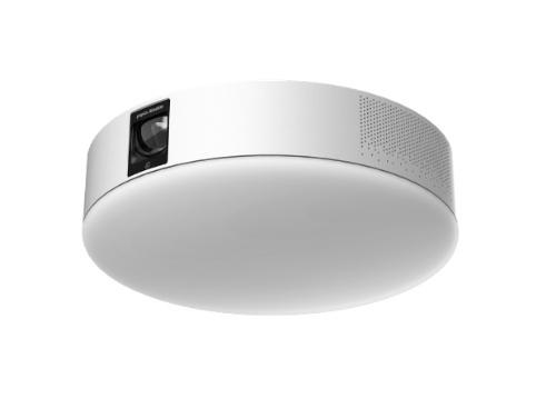 popInが2020年9月に一般販売を開始したプロジェクター内蔵LEDシーリングライト「popIn Aladdin 2」