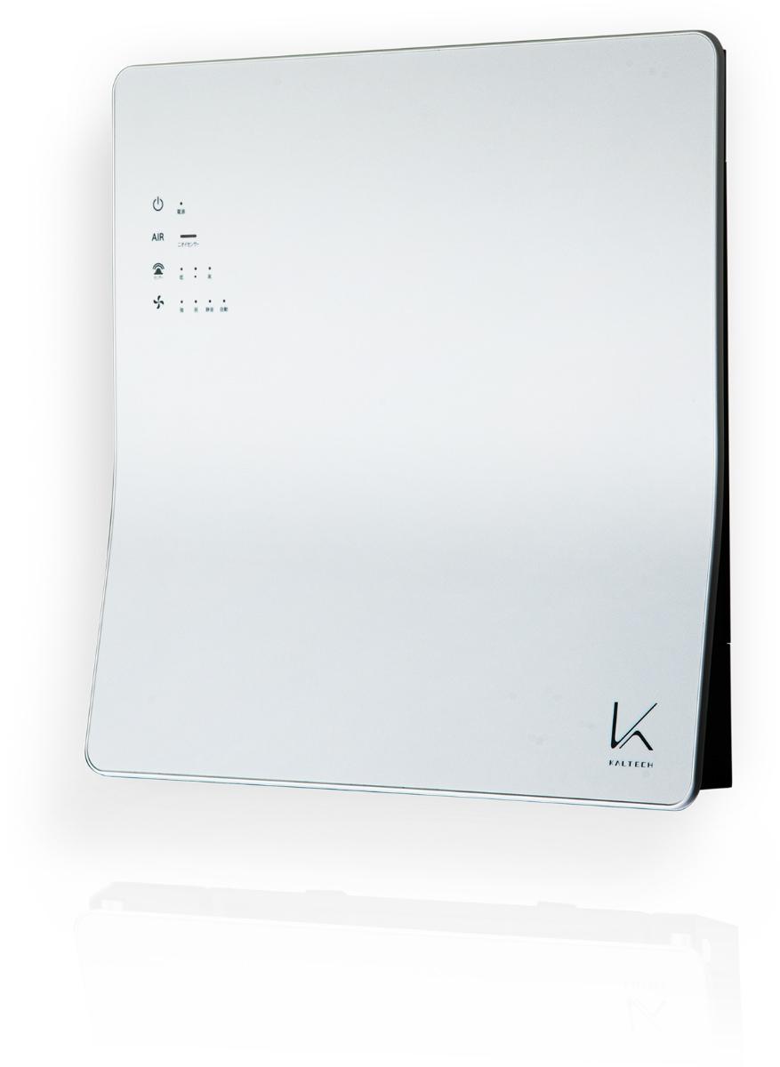 カルテックが2019年10月に発売した空間除菌脱臭機「ターンド・ケイ KL-W01」