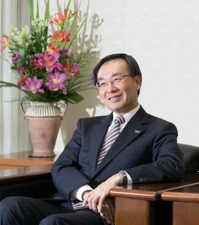 津賀 一宏 代表取締役社長 社長執行役員 CEO