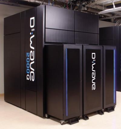 ディーウェーブ・システムズが商用化した最新機種の「D-Wave 2000Q」