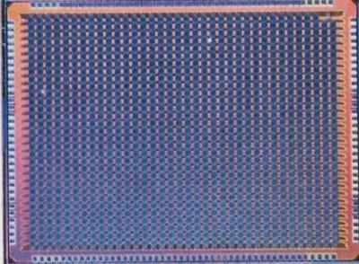 日立製作所が開発した第1世代のCMOSアニーリングチップ。第2世代や第3世代は専用LSIでなくFPGA(field-programmable gate array)に実装して検証している