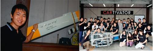 図4 大企業に在籍しつつ2025年に発売目標の「空飛ぶクルマ」を開発中