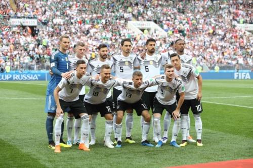 2018FIFAワールドカップ ロシアでのドイツ代表チーム(写真:雑誌協会代表撮影)