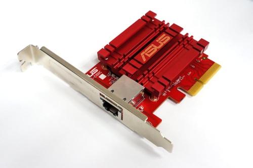 台湾エイスーステック・コンピュータ(ASUSTek Computer)の10GbE NIC「ASUS XG-C100C」