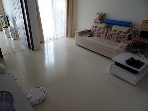 図1 上海にある集合住宅で実験