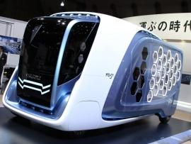 図1 いすゞ自動車が構想する次世代トラック「デザインコンセプト FD-SI」