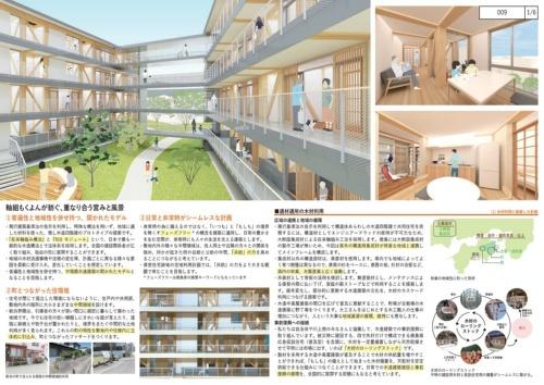 提案書の一部(資料:内野設計・島津臣志建築設計事務所・カワグチテイ建築計画JV)