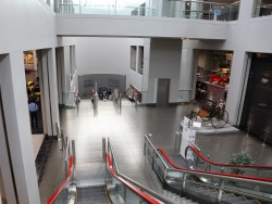 トヨタ博物館の内部