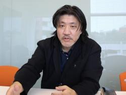 乃村工藝社クリエイティブセンターNOCプロデューサーの川原正毅氏(写真:日経 xTECH)