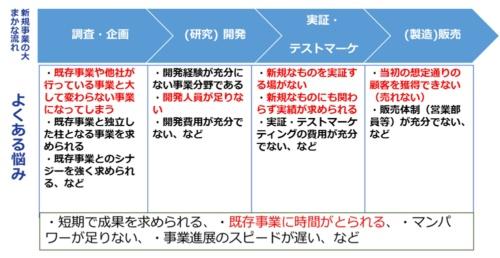 図1●新規事業における悩みの例