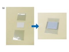 図2 電子ペーパーディスプレーの構造