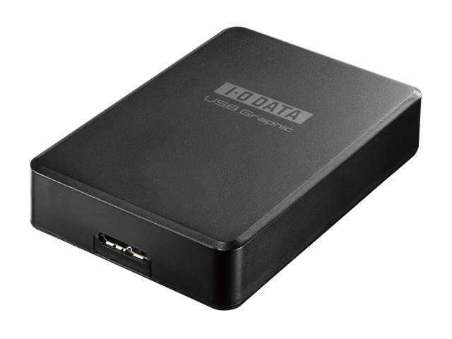 アイ・オー・データ機器の「USBグラフィック(USB-RGB3/H)」は、USB 3.0/USB 2.0対応のHDMI変換アダプター。液晶ディスプレーに接続できる (出所:アイ・オー・データ機器)