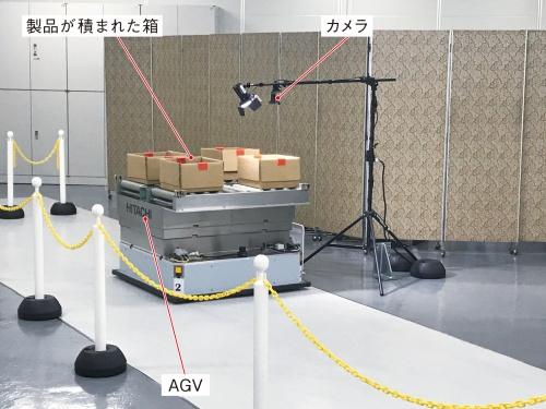 図2 カメラとAGV