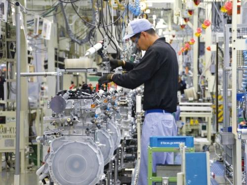 図1 国内の自動車工場のイメージ