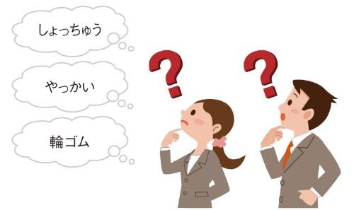 図1 日本語で会話できる中国人が知らない日本語は多数ある