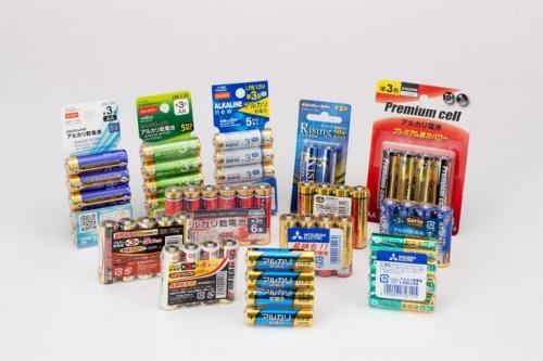 今回購入した単3形乾電池