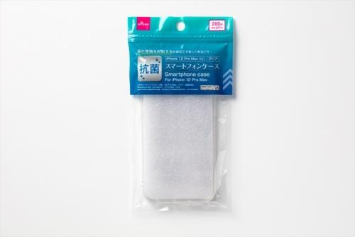 ダイソーで購入した「抗菌スマートフォンケース」。抗菌をうたう現行iPhone用ケースだ