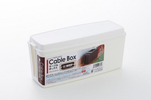 ダイソーで売られていたケーブル収納ボックス「ケーブルボックス」