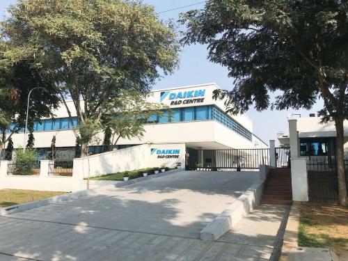 図1 インドの研究開発センター