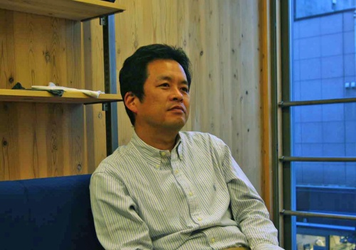 建築設計群 無垢の東哲也氏(写真:日経BP総研 社会インフララボ)