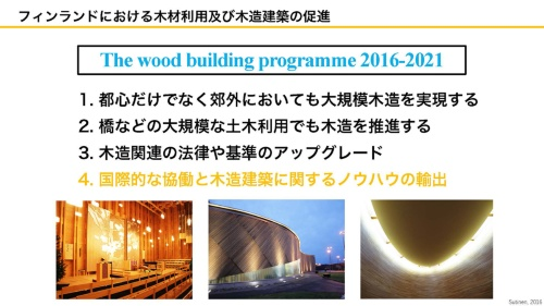 The wood building programme 2016-2021(資料:坂口大史)