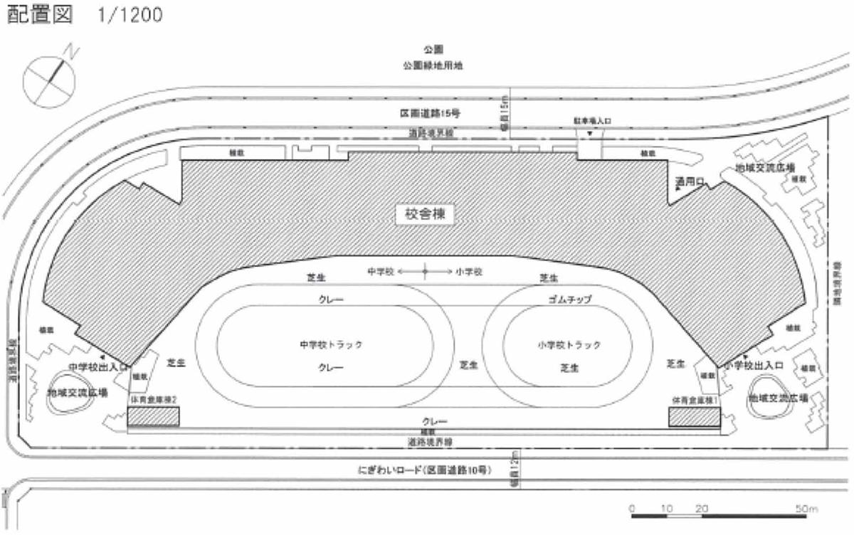 配置図(資料:竹中工務店)