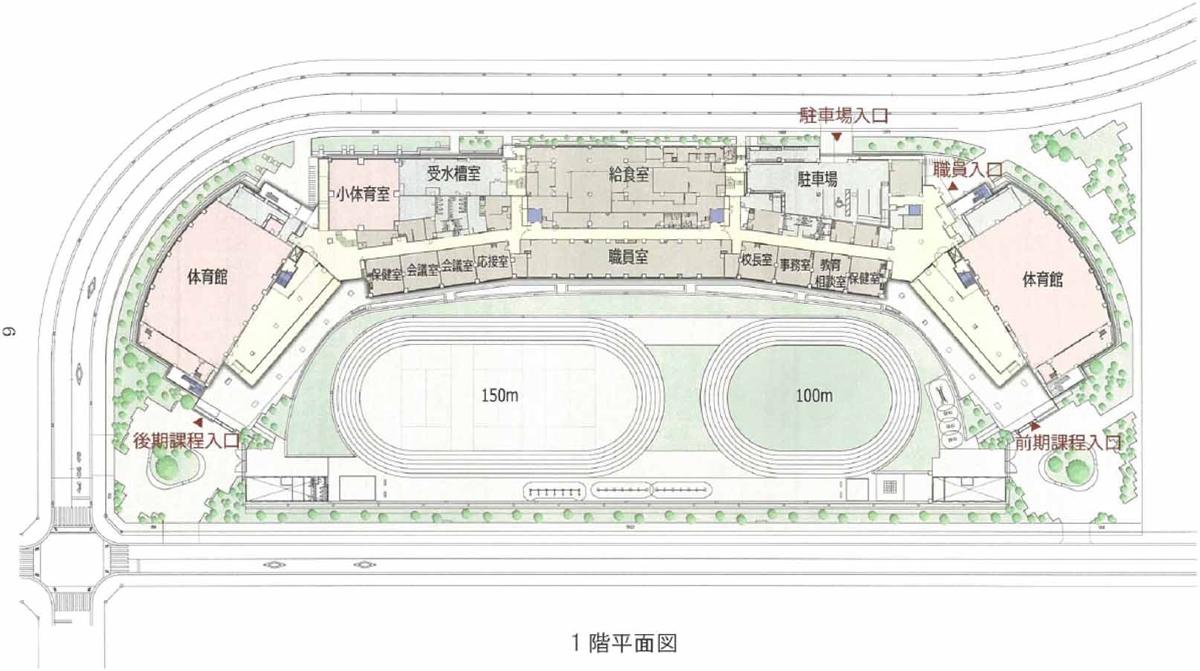 1階平面図(資料:竹中工務店)
