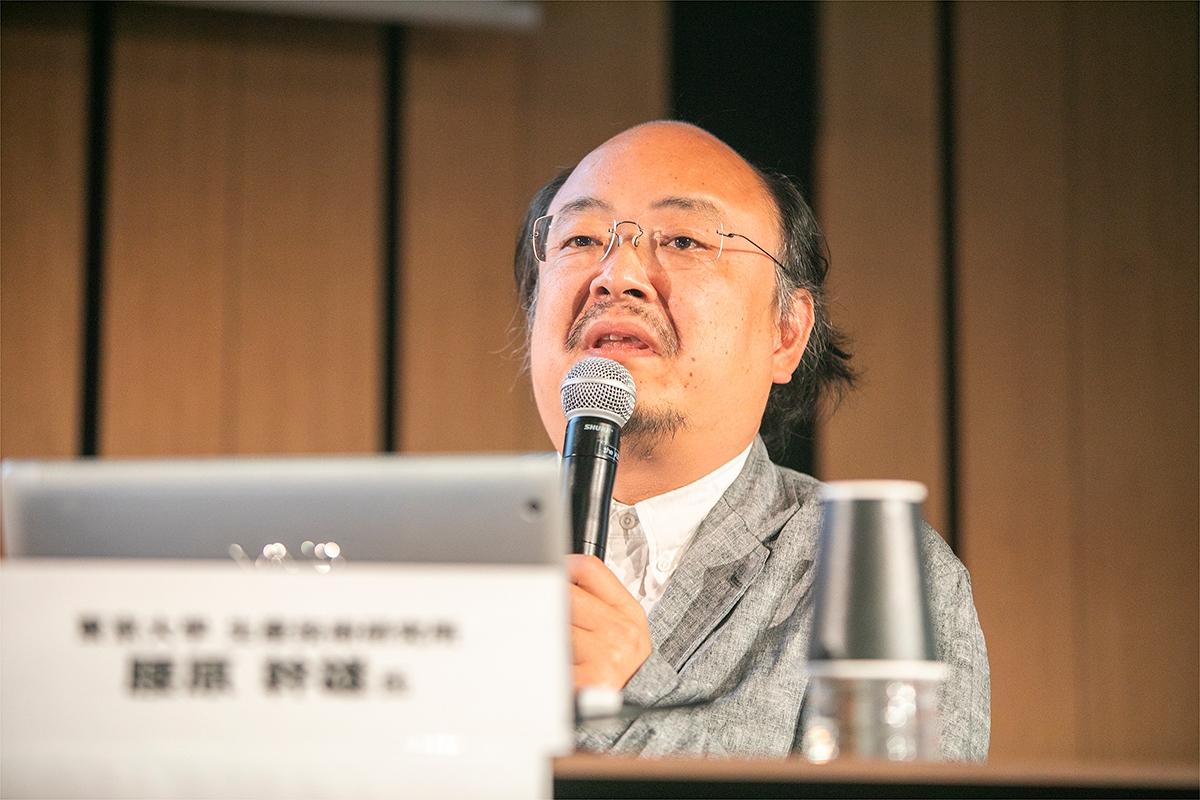 東京大学生産技術研究所木質構造デザイン工学教授の腰原幹雄氏(写真:渡辺 慎一郎)