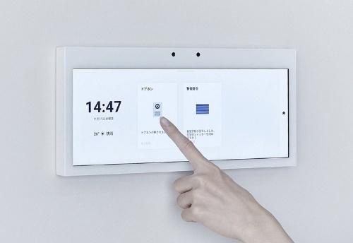 HomeXにおいて中心的な役割を果たす、タッチパネル搭載の「HomeX Display」(資料:パナソニック)