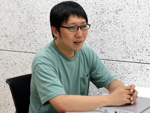 マーケットエンタープライズで情報システムを担当する鹿子聡氏