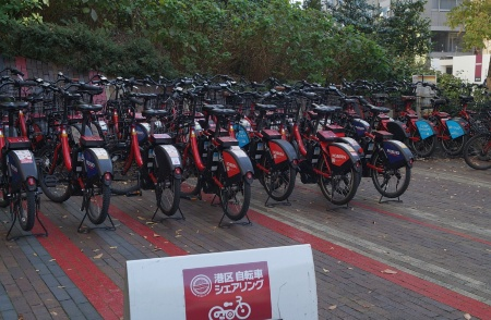 ドコモ・バイクシェアが運営するサイクルシェアリングサービスのポート