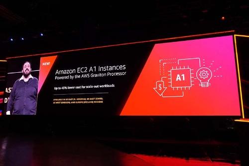 Armプロセッサを搭載するAmazon EC2の「A1」インスタンス