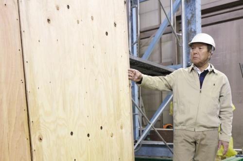 〔写真2〕耐力壁の専門家が監修