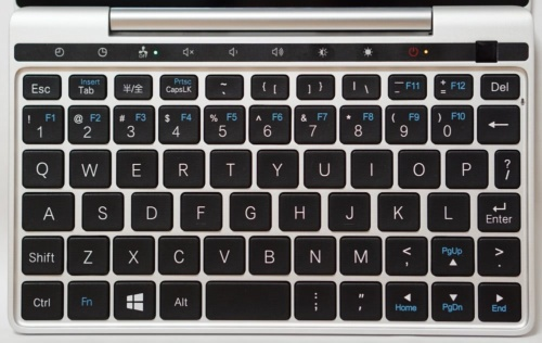 GPD Pocket 2のキーボード部