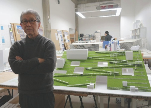 山本理顕設計工場を主宰し、名古屋造形大学学長も務める山本理顕氏(写真:日経アーキテクチュア)
