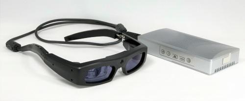 レーザ網膜走査型眼鏡の販売名は「RETISSAメディカル」