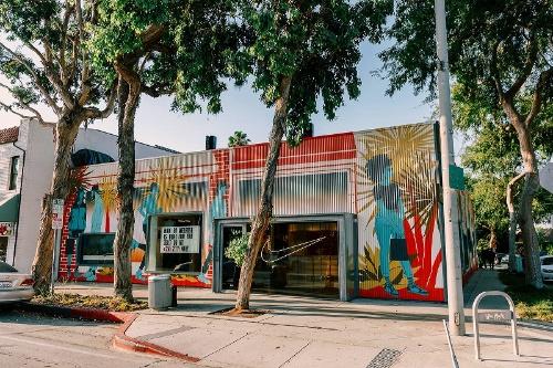 米ロサンゼルスに開店した「ナイキライブ」の店舗