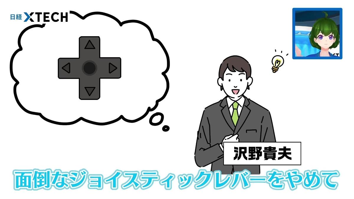 沢野貴夫はゲーム&ウォッチをファミコンの試作機につなぎ、十字キーで違和感なく操作できると証明して見せました! (出所:日経クロステック)