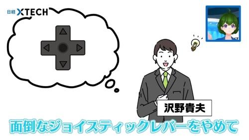 沢野貴夫はゲーム&ウォッチをファミコンの試作機につなぎ、十字キーで違和感なく操作できると証明して見せました!