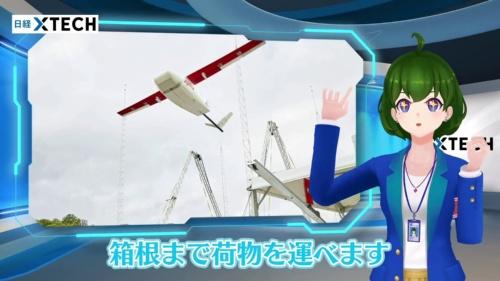 Ziplineのドローンは固定翼型