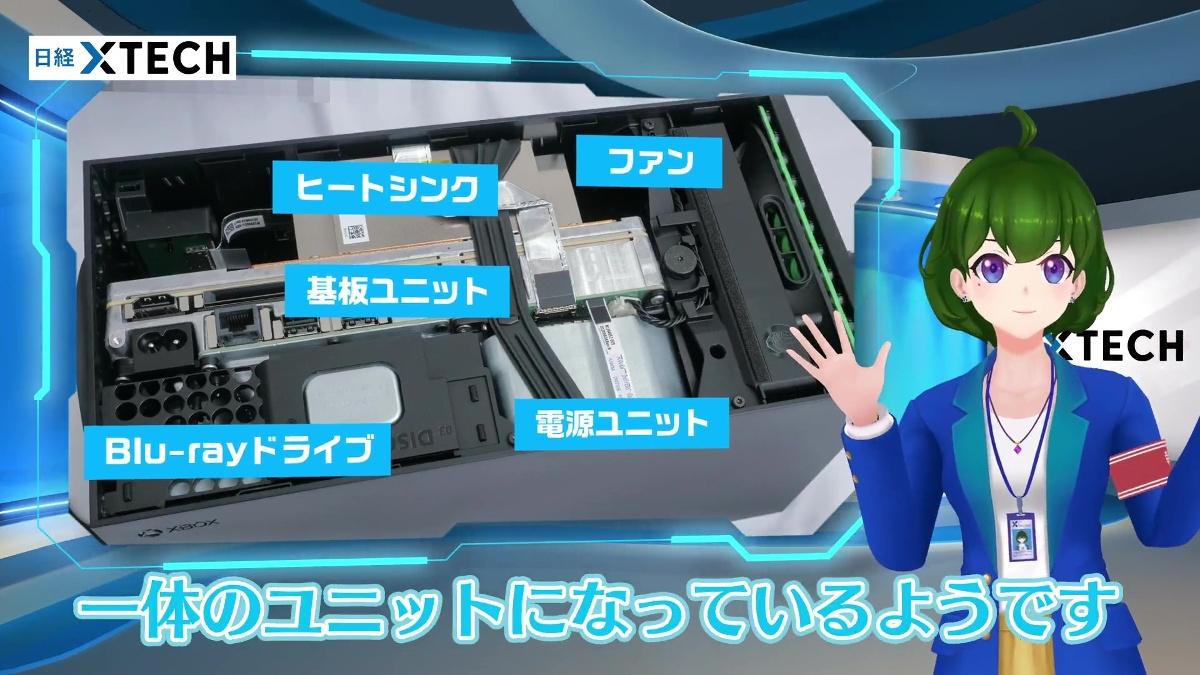 電源ユニットが上部にあることを技術者は不思議がっていました! (出所:日経クロステック)
