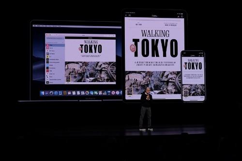 300を超える雑誌や新聞が読み放題となる「Apple News+」。iPhoneやiPad、Macなどのデバイスに合わせて最適なレイアウトでコンテンツを閲覧できる